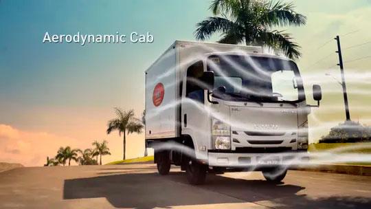 Aerodynamic Cab