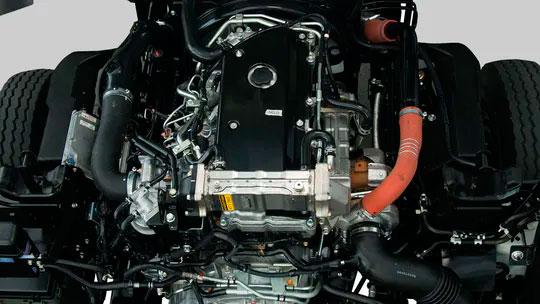 Euro IV Compliant Blue Power Diesel Engine