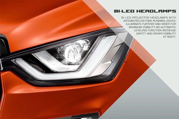 Illuminate further and wider for maximum visibility.